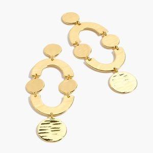 sale | j crew | circlet earrings in gold